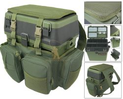 Fishing Seat Box and Rucksack Converter Overview