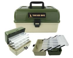 Roddarch 3 Tray Cantilever Fishing Tackle Tough Box Overview