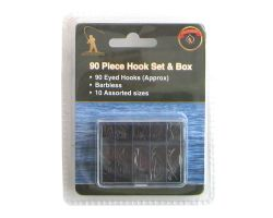 Roddarch 90 Piece Fishing Hook Set