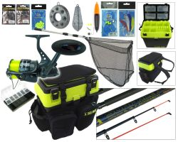 SEA MAX© Complete Sea Fishing Kit With 10' Surf Ace© Rod & Hunter Pro® HP70S Reel Kit Overview