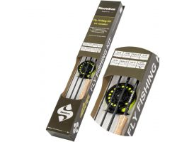 SNOWBEE Classic Saltwater and Predator Fly Fishing Kit 9ft - Line Weight #8